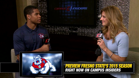 Fresno State's Charles Washington On Freshman Anthoula Kelly