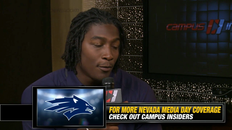 Nevada's Lenny Jones On His Thirst To Play Both Ways