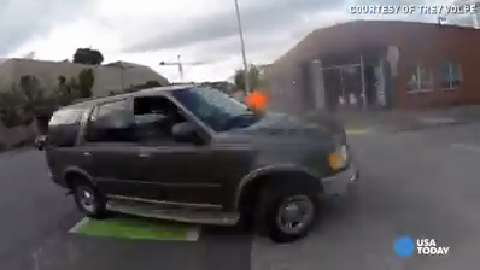 Cyclist captures hit-and-run crash on camera