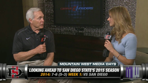 San Diego State's Rocky Long On Maxwell Smith
