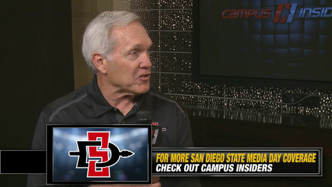 San Diego State's Rocky Long On Donnell Pumphrey