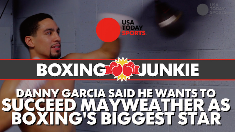 Danny Garcia wants to be the next Floyd Mayweather