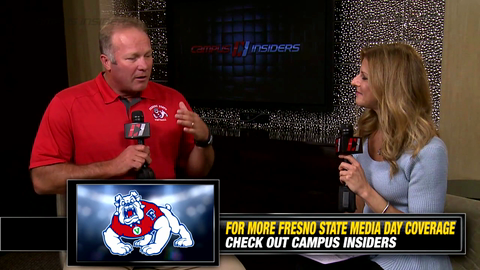 Fresno State's Tim DeRuyter On Competing For Conference Championship