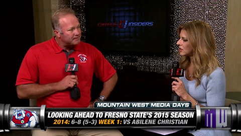 Fresno State's Tim DeRuyter Has High Hopes For 2015 Season