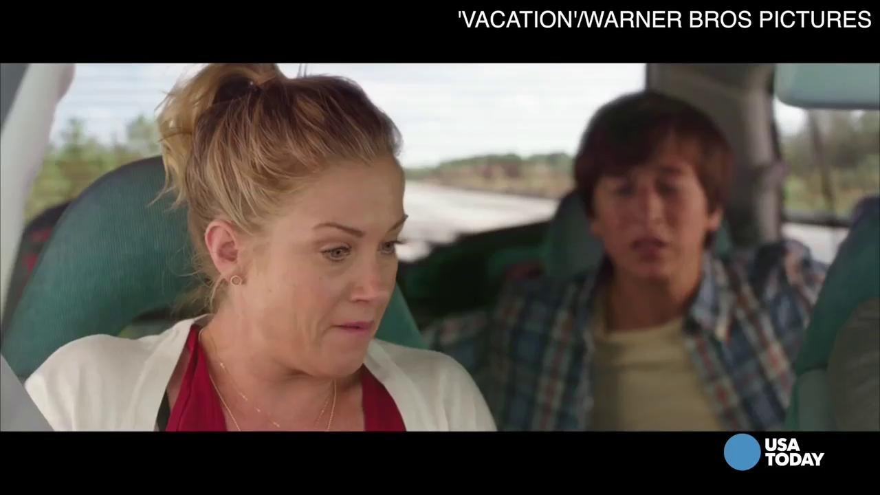 Griswolds' van the other star of 'Vacation'