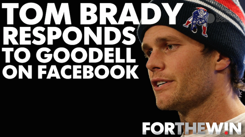 Brady responds to suspension ruling on Facebook
