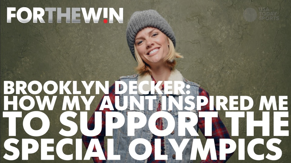 Brooklyn Decker: Aunt inspired me to support Special Olympics