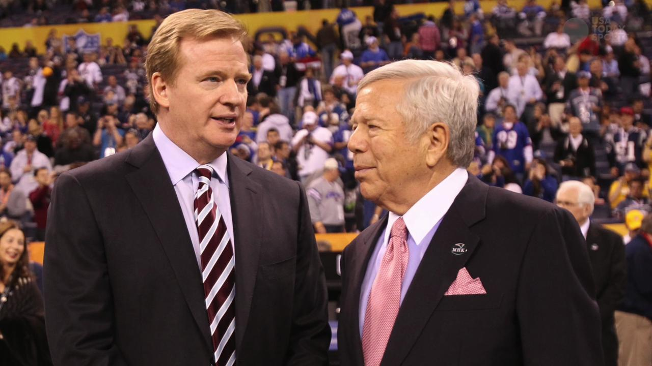 Kraft speaks out on Tom Brady suspension