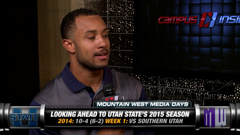 Utah State's Chuckie Keeton Returns To Lead Aggies' Offense