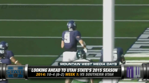 Utah State's Kyler Fackrell On His Return From Injury