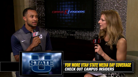Utah State's Chuckie Keeton On Returning From Injury