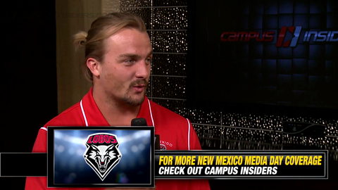 New Mexico's Reece White On Gaining Weight
