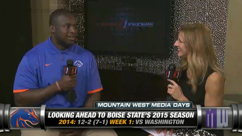 Boise State's Rees Odhiambo On His Senior Season