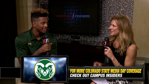Colorado State's Rashard Higgins On Dying His Hair