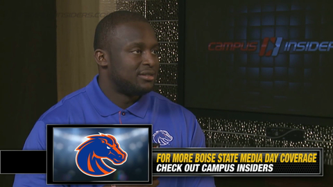 Boise State's Rees Odhiambo On Replacing Jay Ajayi