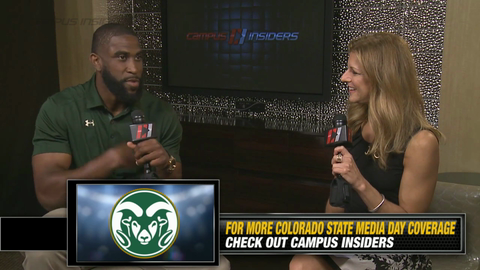 Colorado State's Trent Matthews On Maintaining His Beard