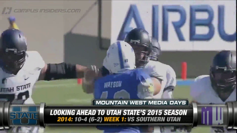 Utah State's Matt Wells On Keeping Chuckie Keeton Healthy