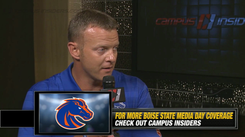 Boise State's Bryan Harsin On Replacing Jay Ajayi