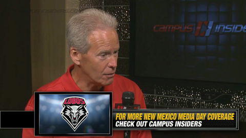 New Mexico's Bob Davie On His Starting Quarterback
