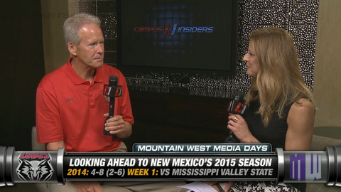New Mexico's Bob Davie On Position Battles