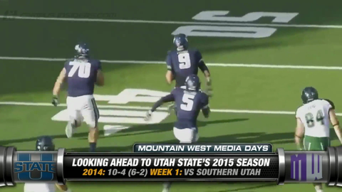 Utah State's Matt Wells On His Returning Stars