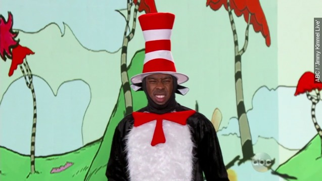 See Tyler, The Creator rap The new Dr. Seuss book