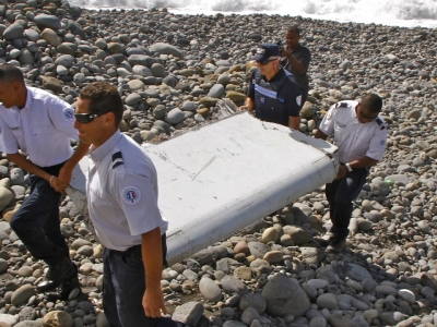Possible clue to missing MH370 heading to France