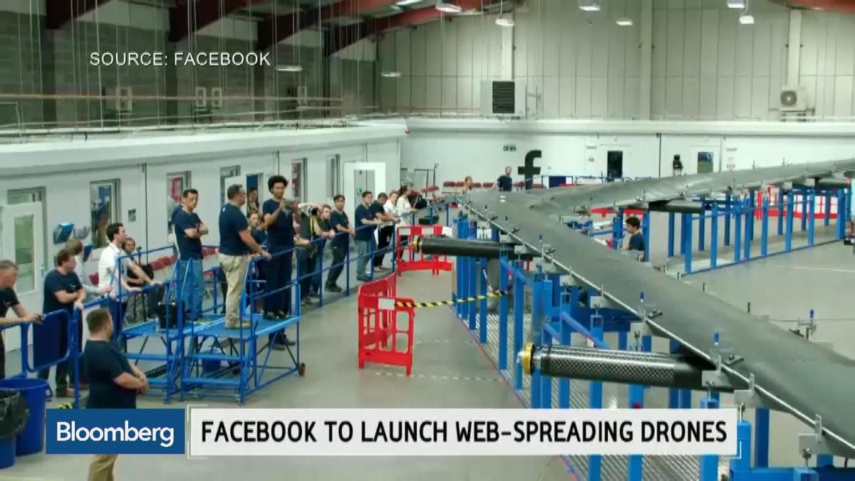 Web-spreading drones to be launched by Facebook