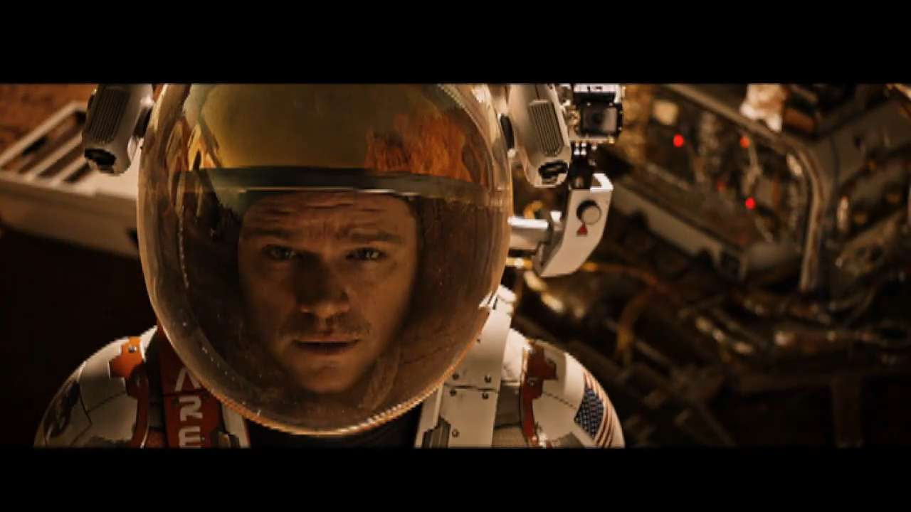 The International Space Station gets 'The Martian' for ...