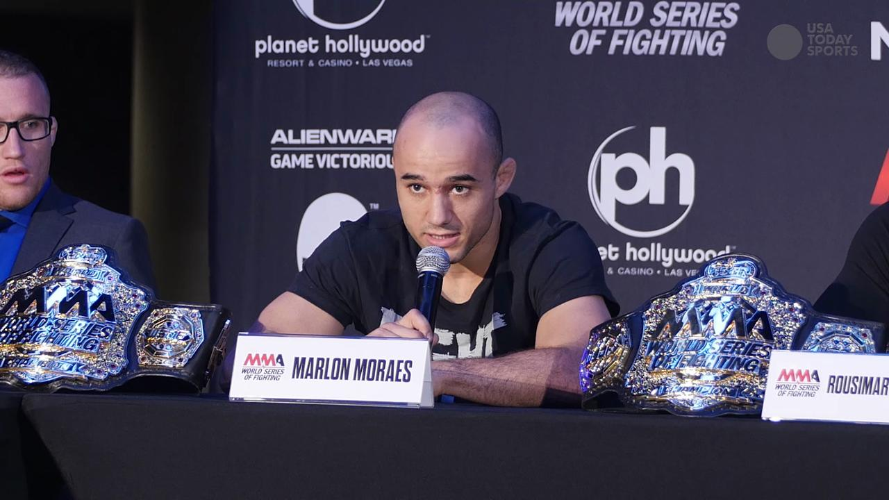 WSOF 22: Moraes vs Moraes- One is ready to defend the belt, while the other is ready to take