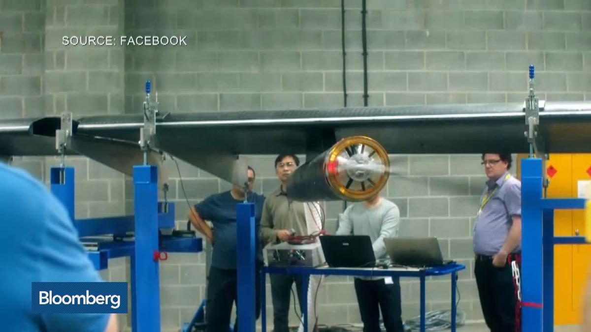 Facebook Plans High-Altitude Laser Transmitting Drones