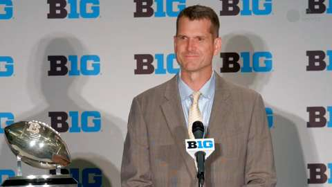 Jim Harbaugh owns Big Ten Media Days