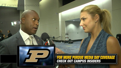Purdue's Darrell Hazell On Defensive Goals