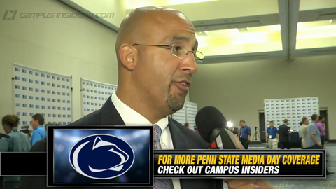 Penn State's James Franklin On Akeel Lynch