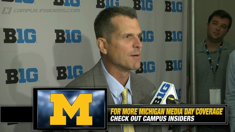 Michigan's Jim Harbaugh On Coaching Mindset