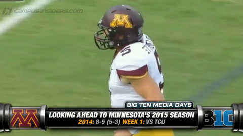 Minnesota's Jerry Kill On Mitch Leidner