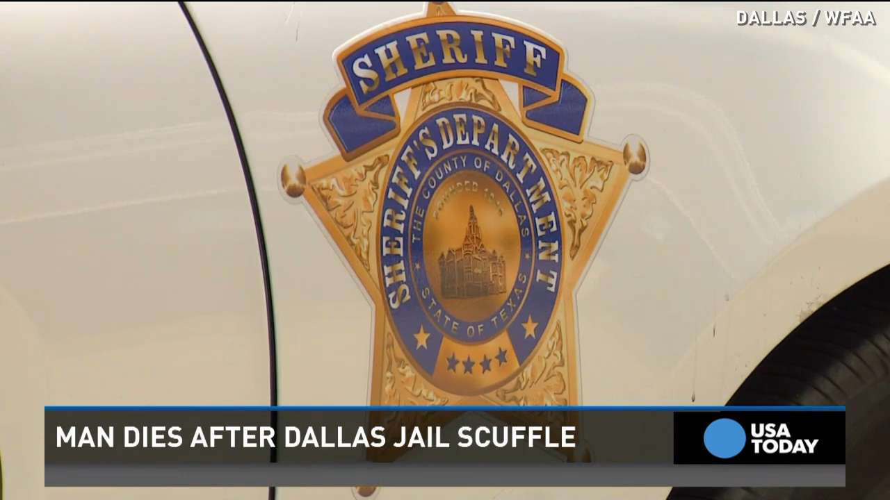 Man dies after scuffle at Dallas jail