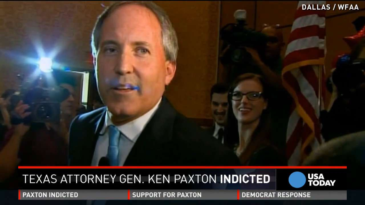 Sources: TX Attorney General indicted on felony charges