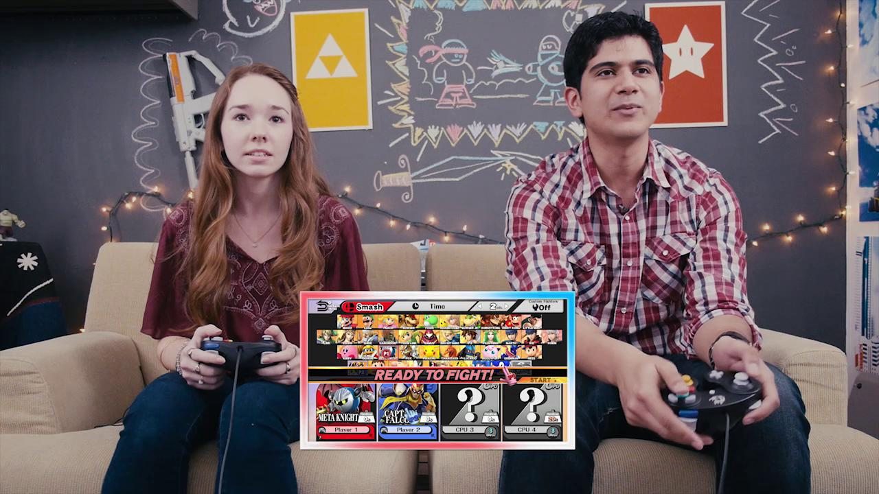 Q & Play: 'The Americans' star Holly Taylor plays Super Smash Bros