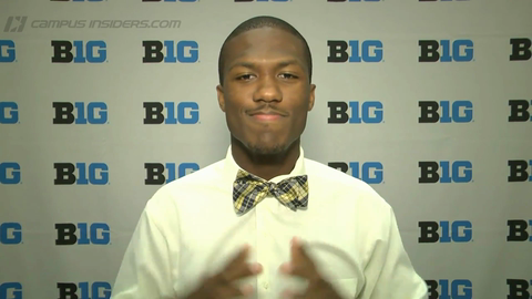 Michigan's Jehu Chesson's Fashion Tutorial