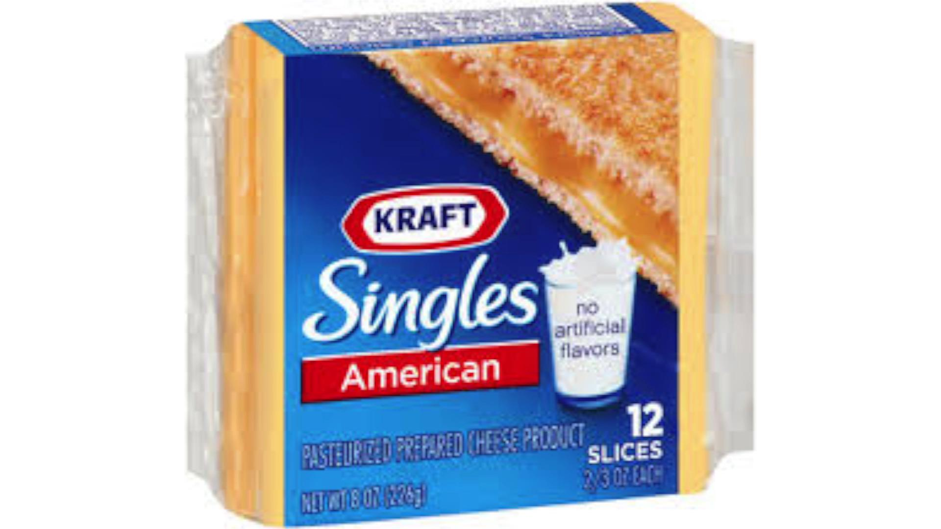 Kraft is recalling 36,000 cases of its Kraft American and White American singles because it says a small part of the wrapper can remain stuck to the cheese, causing a choking hazard. Jen Markham (@jenmarkham) explains.