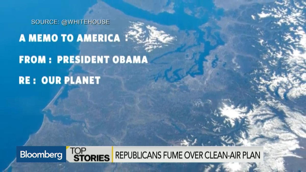 Republicans fume over clean-air plan
