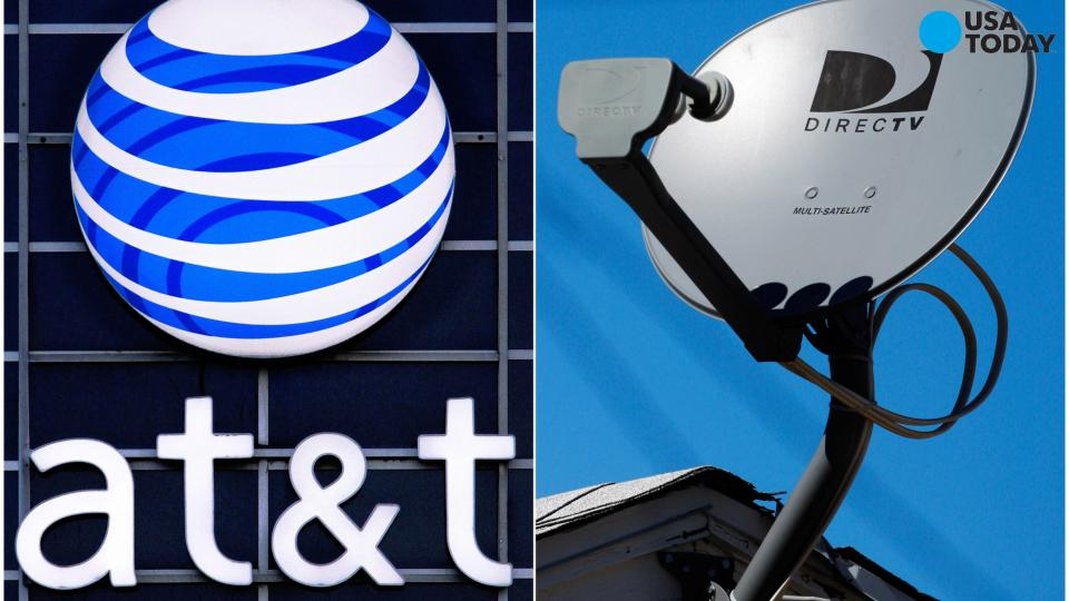 Opening salvo from AT&T and DirecTV