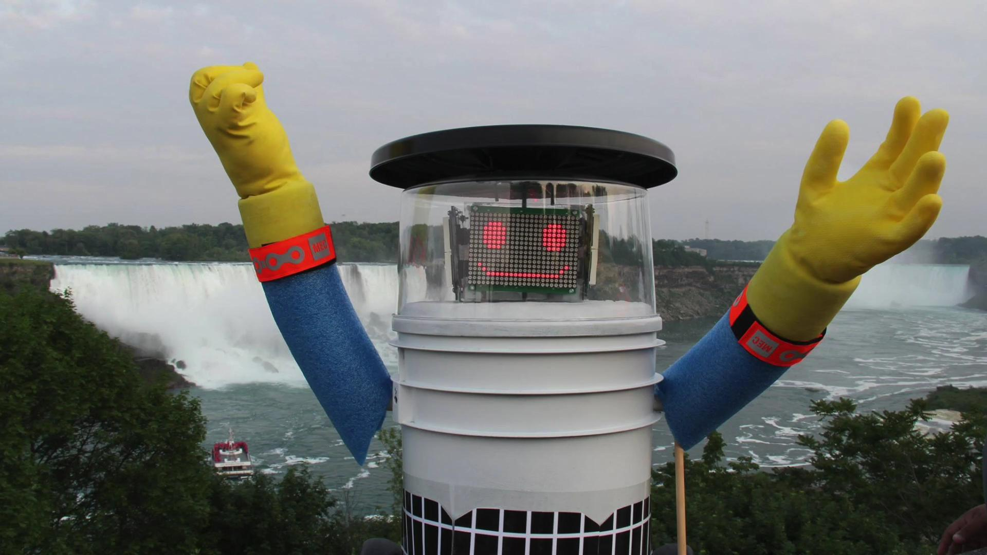 Adorable hitchhiking robot's trip ends tragically