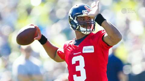USA TODAY Sports' Tom Pelissero reports from Seattle Training Camp as Russell Wilson and the Seahawks prepare for the 2015 season.