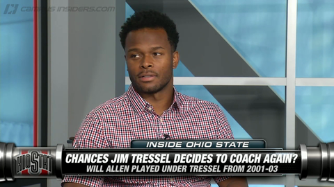 Former Buckeye Will Allen On Chances Jim Tressel Coaches Again
