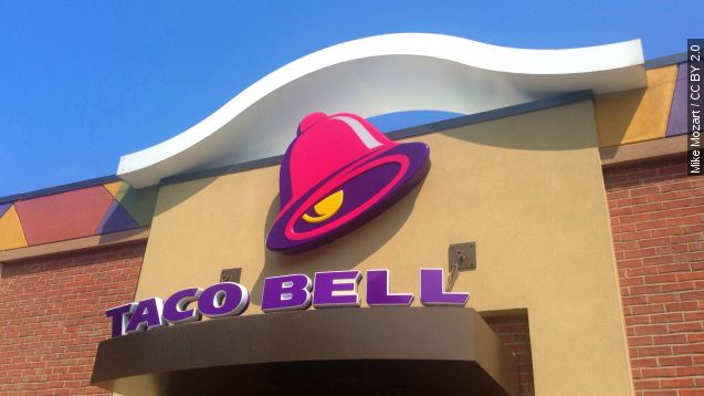 Taco Bell employee writes 'pig' on police officer's burritos