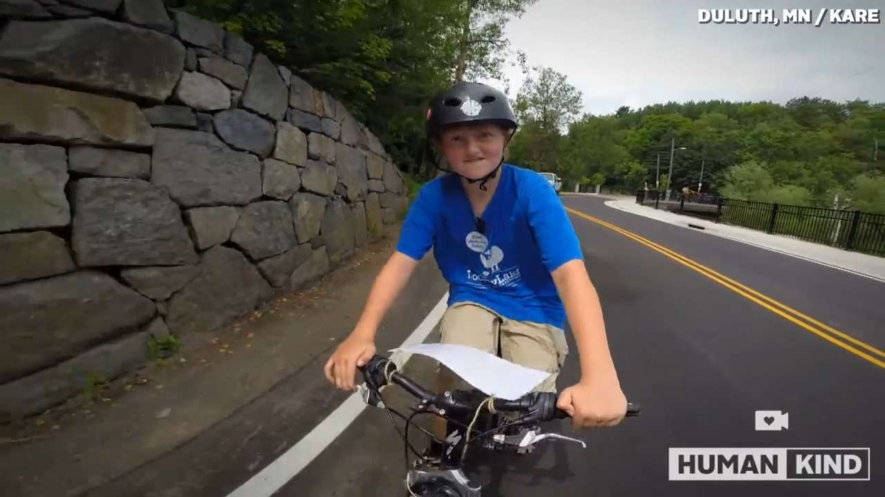 12-year-old spins bike rides into budding business