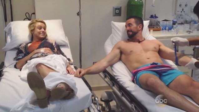 Watch this bizarre 'Bachelor in Paradise' hospital date