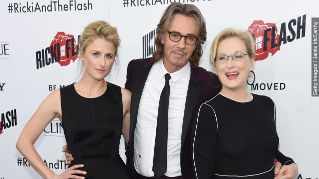 Meryl streep was upstaged by her 20-month-old daughter